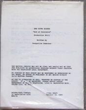 The Young Riders Script End of Innocence Keepsake Hard Time Steve Baum