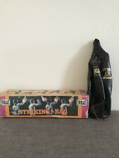 Vintage Everlast Striking Bag Speed Bag 4203 Black leather