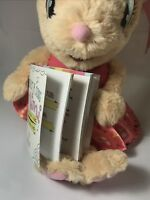 Hallmark Request A Song Mimi Plush Mouse Song Book Interactive Singing Toy NWT