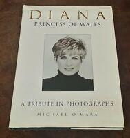 PRINCESS DIANA DIANA OF WALES A TRIBUTE IN PHOTOGRAPHS BOOK  HC/DJ 1997