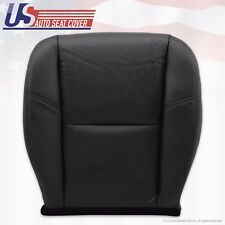 2011 2012 Chevy Avalanche LTZ PASSENGER Bottom Seat Cover PERFORATED LEATHER BLK