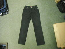 "Betty Barclay Slim Straight Jeans Waist 28"" Leg 29"" Black Faded Ladies Jeans"
