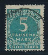 - Briefmarken aus dem deutschen Reich (1919-1923) als Satz