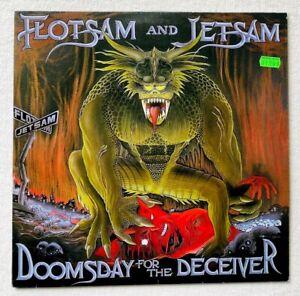 FLOTSAM AND JETSAM . doomsday LP 1.Press 1986 Death Angel Metallica Slayer Sodom