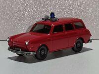 Wiking ( 600 / 11B )  - VW  Variant Feuerwehr - rot - TOP ZUSTAND