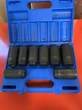 Grey Pneumatic Gry 1708sn 12in Drive 8 Pc Spindleaxle Nut Set 12 Point
