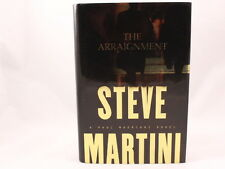 VG! The  Arraignment - A Paul Madriani Novel by Steve Martin (2003, HC/DJ)