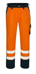 Mascot TORINO Trousers 00979-860-141 Orange/Marine Blue