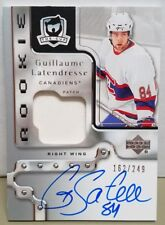 2006-07 The Cup Guillaume Latendresse Patch Auto RC #162/249