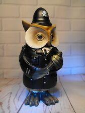 POLICEMAN GIFT OWL COLLECTOR GIFT WISE OWL POLICEMAN Police Figure Figurine Gift