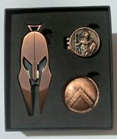 Spartan Golf Tools Combo, Divot Tool, Ball Marker, Magnetic hat clip ball marker