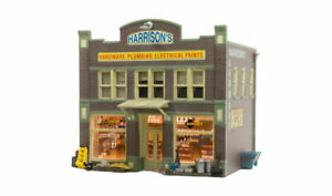 Woodland Scenics BR5022 HO-Scale Harrison's Hardware Built-Up Building