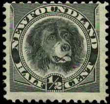 Canada, Newfoundland  Scott #58 SG #59 Mint Hinged