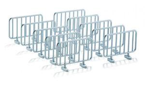 Lot de 10 barrières,SIK2464, échelle1/32,SIKU