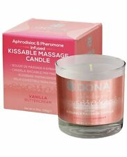 Dona Massage Oil Candle Naughty Aphrodisiacs Pheromones Vanilla Buttercream