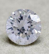 Diamante natural 0,44ct 4,9mm h/i1 brillante alrededor de 4,8 5mm 5,0mm 4,9 5 5,0