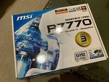 MSI ATI RADEON (R7770-2PMD1GD5/OC) 1GB GDDR5 SDRAM PCI Express Graphic Card
