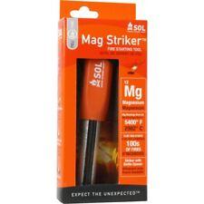 SOL MAG STRIKER FIRE STARTER. ORANGE . Flint Fire Starter & Bottle Opener