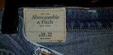 Abercrombie and Fitch jeans para hombre Super Skinny Size w30 X 32L