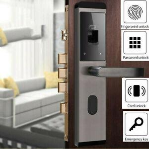 Elektrische Fingerabdruck Türschloss Digital Passwort, Magnetk Türöffner Schloss