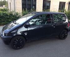 Radkappen schwarz von Versaco passend für Renault Twingo 14 Zoll Felgen