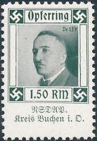 Stamp Germany Revenue WWII 3rd Reich Charity Kreis Buchen DL MNH
