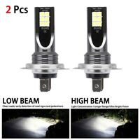 2x H7 110W LED Bulbs Super White Headlight Set High Low Beam Car Headlamp UK