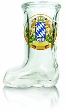 Das Beer Boot Shot Glass: Bayern Crest