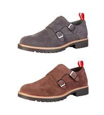 Calzado de hombre Zapatos de vestir con cordones marrones, Talla 43