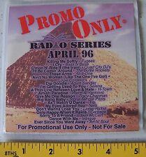 1 Promo Only  Radio Series CD  April  96  New