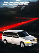 1991 Dodge 52-page Car Sales Brochure - Monaco Dynasty Shadow Colt Caravan