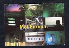 c1990s Advertising Card Mot Europa - Rail Travel