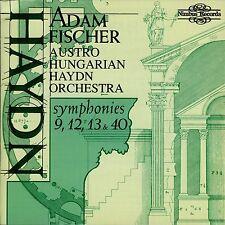 HAYDN  symphonies 9, 12, 13 & 40  ADAM FISCHER