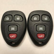 2 New Replacement Keyless Remote Key Fobs 4 Button Van Door OUC60270 20877108