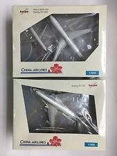 Herpa 514231, China Airlines Set - (AirBus A330-300, Boeing 737-800 & 747-400)