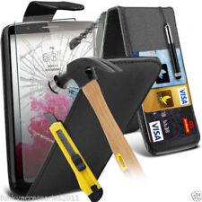 Fundas y carcasas Para LG G4 color principal negro de piel para teléfonos móviles y PDAs