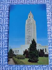 Baton Rouge, LA, State Capitol  OLD Vtg PC Postcard