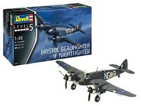 REVELL® 1:48 SCALE BEAUFIGHTER IF NIGHTFIGHTER MODEL AIRCRAFT KIT 03854