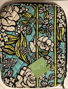 """Vera Bradley Island Blooms Padded 10x8"""" Tablet iPad Sleeve Cover Case NWT's"""