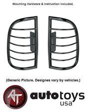 ATU Black Tail Light Guards Covers fit 2002-2007 Jeep Liberty- SET