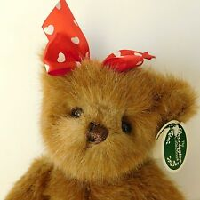 Teddy Bear Lovie Bearington Collection Jointed Plush Poseable Valentines Gift