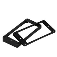 2pcs Curved Humbucker Pickups Frame Mounting Rings for LP Electric Guitars