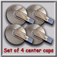 Set of 4 Chrome Hummer H3 Center Caps, Hubcaps. Fits 2006-2010 Stock OEM Wheels