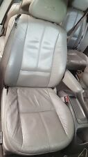 1999 FORD WINDSTAR RIGHT PASS FRONT ELECTRIC BUCKET SEAT LEATHER GRAY OEM 99-03