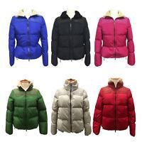 Coach 83124 Women's Legacy Down Puffer Jacket Coat Shearling Trim Full Zip