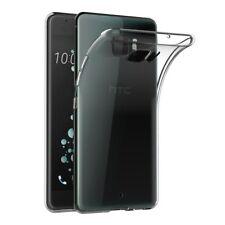 CUSTODIA COVER BUMPER in TPU SILICONE GEL TRASPARENTE per HTC U ULTRA