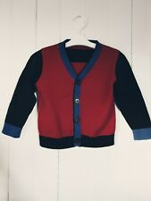 Boys Boy marks and spencer M&S cardigan Size 1.5 2 Years