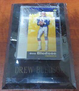Drew Bledsoe Upper Deck 93 Silver Set Trading Card Plaque