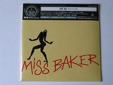 """PREMIATA FORNERIA MARCONI  PFM """"Miss Baker""""  japan mini LP CD"""
