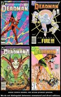 Deadman (2nd Series) 1 2 3 4 DC 1986 Complete Set Run Lot 1-4 VF/NM